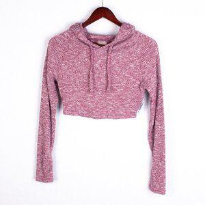 Gymshark Cropped Slounge Hoodie Shirt XS